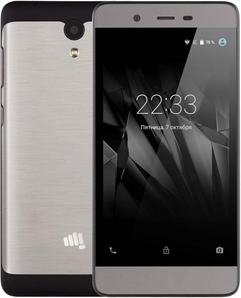 Micromax Bolt Warrior 1 Plus Q4101 (черно-серый)
