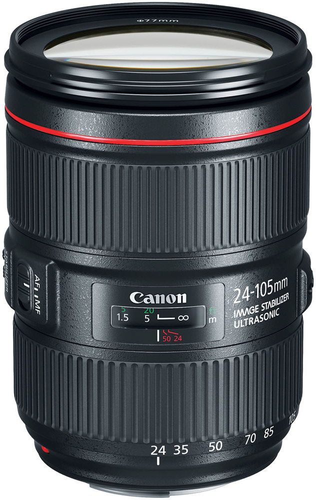 Canon EF 24-105mm f/4L IS II USM (черный)