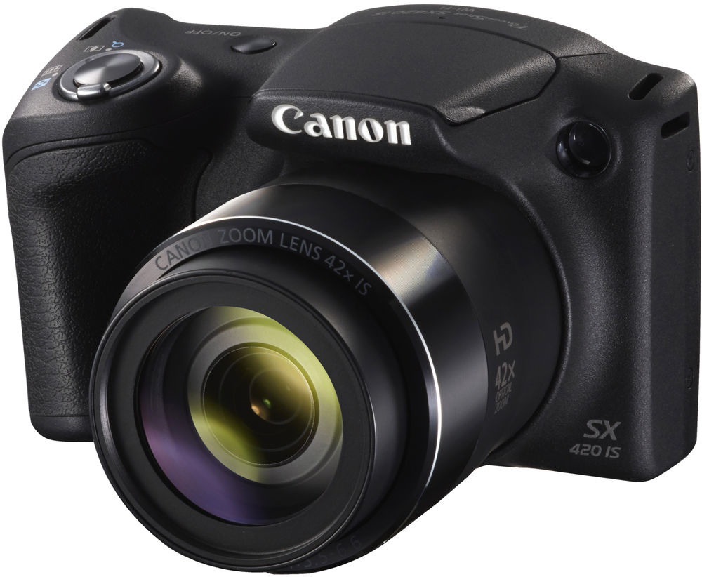 Canon PowerShot SX420 IS (черный)