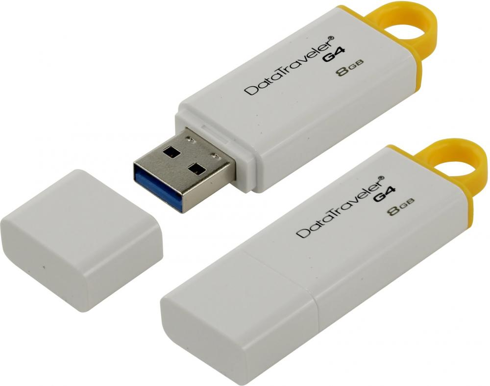 Kingston DataTraveler G4 8Gb (белый) от Kingston