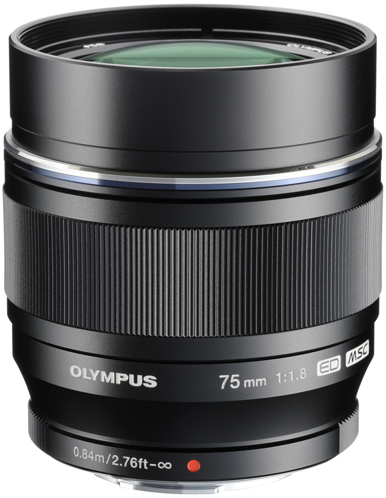 Olympus M.Zuiko Digital ED 75mm f/1.8 (черный)