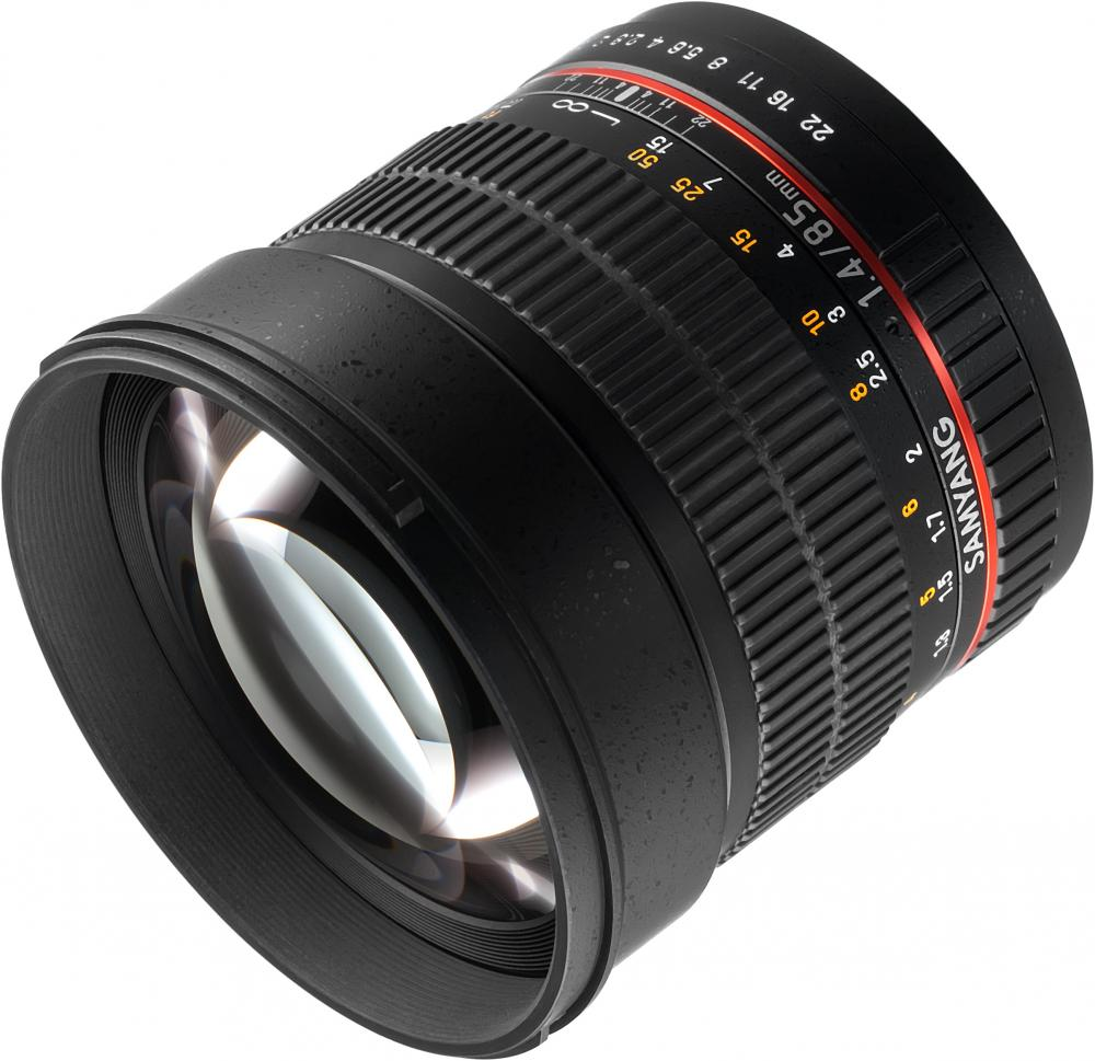 Samyang MF 85mm f/1.4 AS IF Canon EF