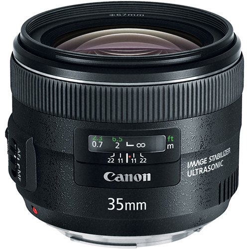 Canon EF 35mm f/2 IS USM (черный)