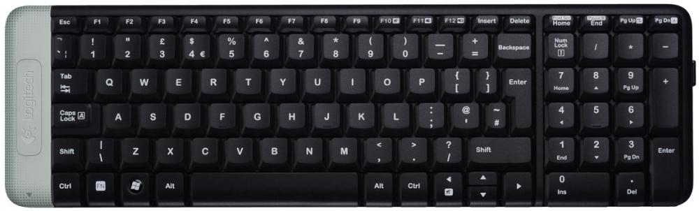 Logitech Wireless Keyboard K230 Black USB (черный)