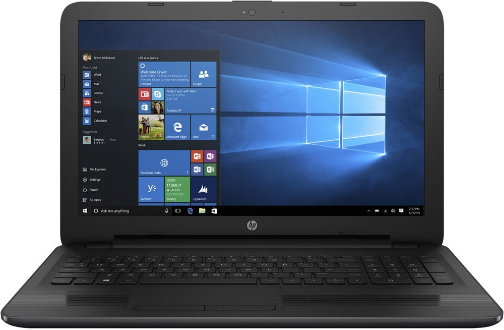 "Ноутбук HP 250 G5 (W4N02EA) (Intel Core i3 5005U 2000 Mhz/15.6""/1366x768/4096Mb/500Gb HDD/DVD-RW/Intel® HD Graphics 5500/WIFI/Windows 7 Professional x64)"
