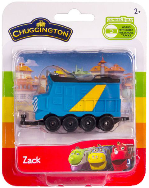 CHUGGINGTON Паровозик Зак в блистере