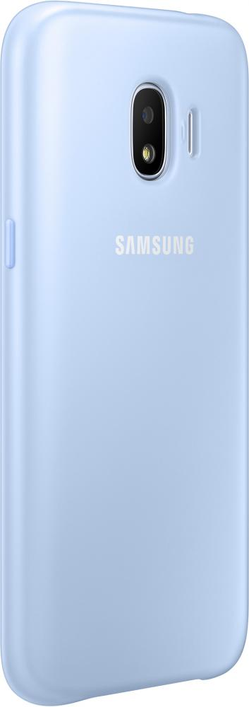 Клип-кейс Samsung Dual Layer для Galaxy J2 (2018) (голубой) чехол samsung dual layer cover j2 2018 gold