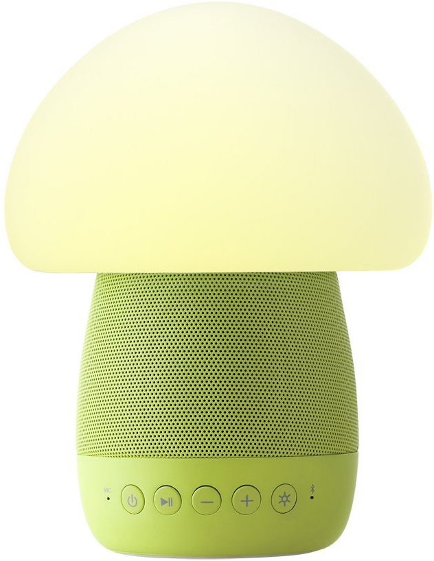 Smart Mushroom Lamp Speaker (зеленый)