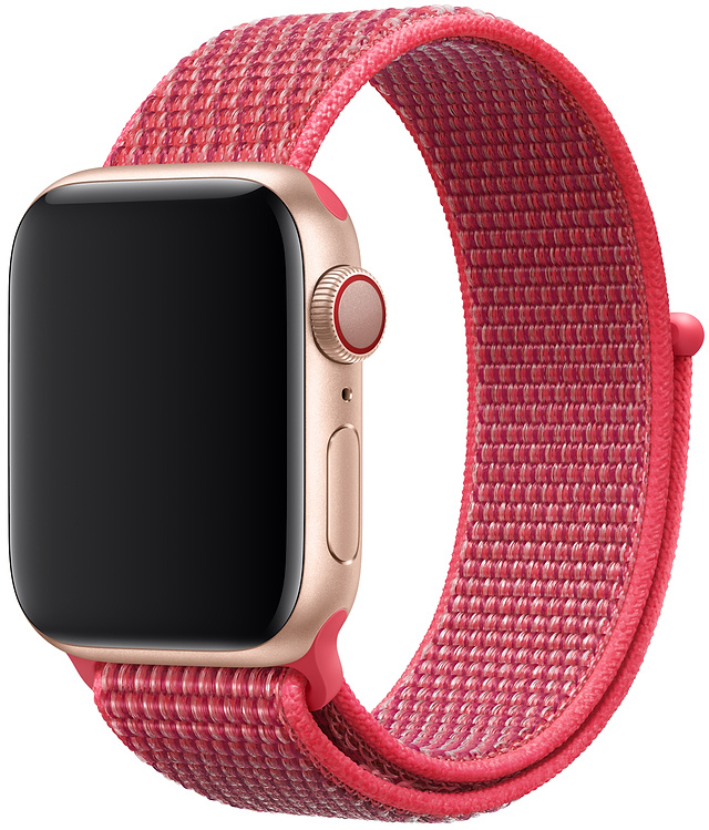 Ремешок Apple Sport Nylon Band для Watch 40 мм (красный каркаде) cute stylish pu band women watch