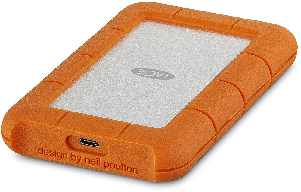 LaCie 4Tb Rugged Mini 2.5 USB-C