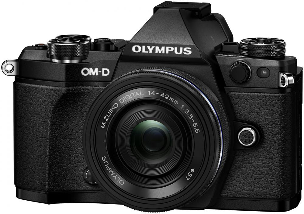 Olympus OM-D E-M5 Mark II Kit EZ-M 14-42 EZ (черный) фотоаппарат olympus om d e m5 mark ii kit 14 42 mm ez silver black