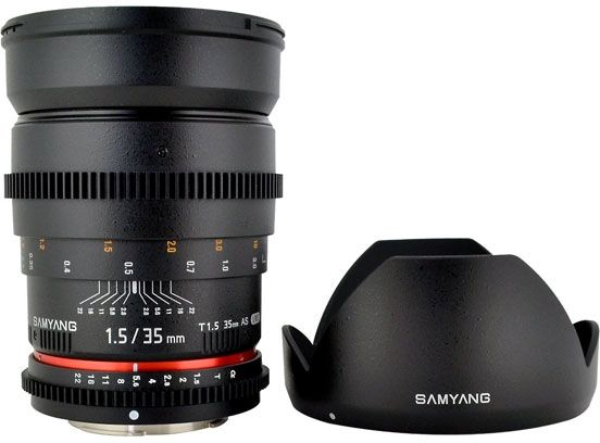 Объектив Samyang 35mm T1.5 ED AS UMC VDSLR Canon EF
