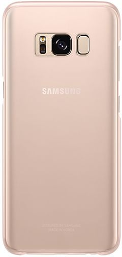 Клип-кейс Samsung Clear Cover для Galaxy S8 (розовый)