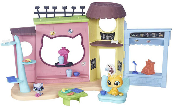 Игровой набор Hasbro Littlest Pet Shop B5479 Кафе