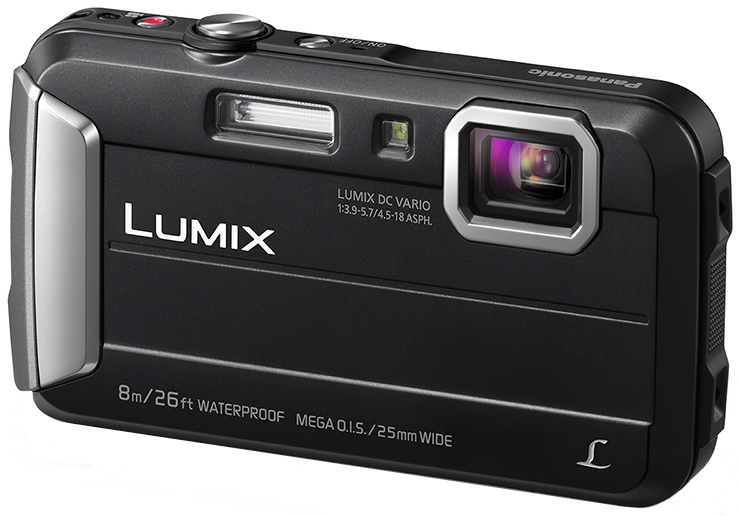 Panasonic Lumix DMC-FT30 (черный)