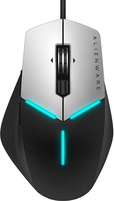 Мышь Dell AW558 Alienware Core Gaming (серый) new for dell alienware m17x r4 lcd back cover 0xd6df 0fpp84 0pdjm2