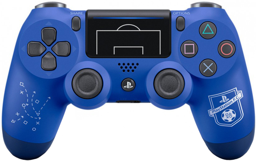 PlayStation DUALSHOCK 4 V2 (синий)