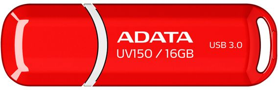 ADATA UV150 16Gb (красный) adata dashdrive uv150 usb 3 0 flash drive red 16gb