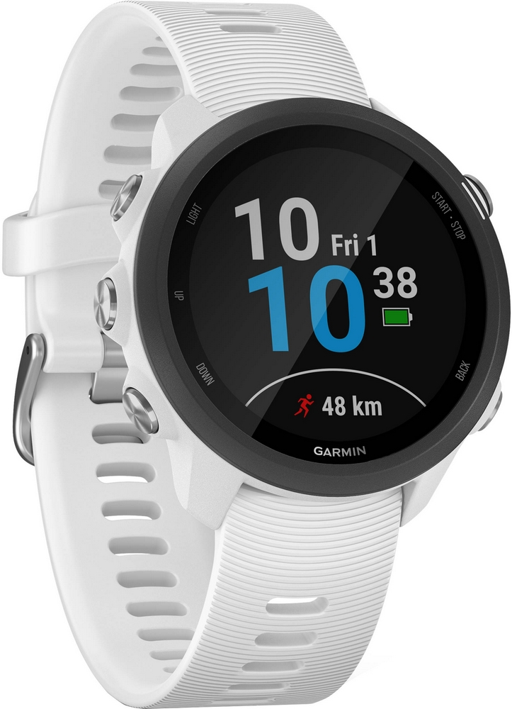 Garmin Forerunner 245 Music (черно-белый) garmin forerunner 10 black red garmin