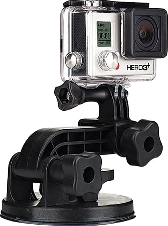 Крепление GoPro Suction Cup Mount AUCMT-302 360 degree rotation car suction cup holder bracket for iphone samsung htc lg green