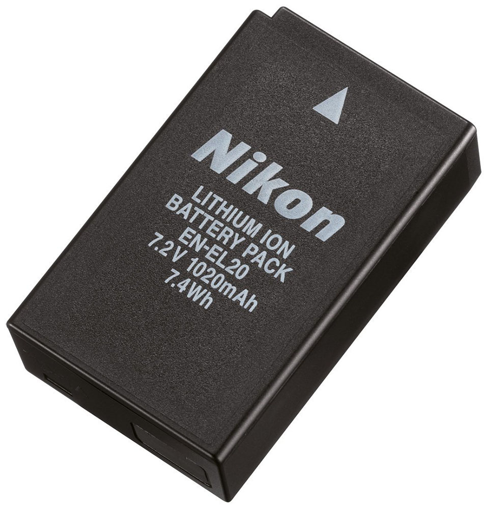 Аккумулятор Nikon EN-EL20 dste en el15 7v 2550mah replacement li ion battery for nikon d7100 d800 d610 more black