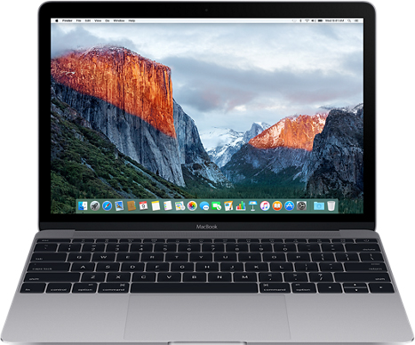 "Ноутбук Apple MacBook 12"" Retina (MLH82RU/A) (Intel Core M5 1200 Mhz/12""/2304x1440/8192Mb/512Gb HDD/DVD нет/Intel® HD Graphics 515/WIFI/Mac OS X El Capitan)"