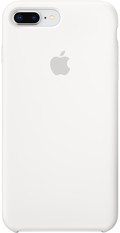 Клип-кейс Apple Silicone Case для iPhone 8 Plus/7 Plus (белый)