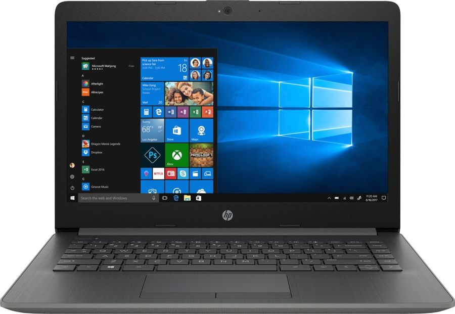 Ноутбук HP 14-cm0012ur (AMD Ryzen 5 2500U 2000 Mhz/14.0/1366x768/8192Mb/128Gb HDD/DVD нет/AMD Radeon Vega 8/WIFI/Windows 10 Home) 701764 501 for hp 2000 bf60ca notebook for hp 2000 laptop motherboard for amd e300 cpu with integrated 100