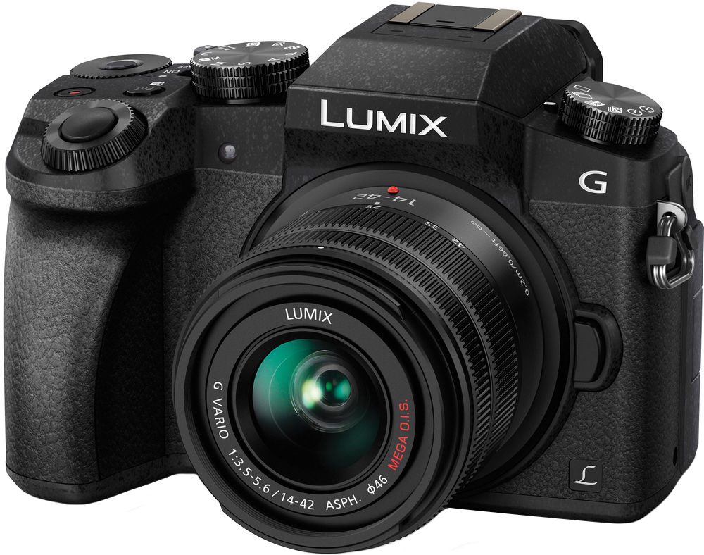 Panasonic Lumix DMC-G7 Kit 14-42mm (черный) объектив