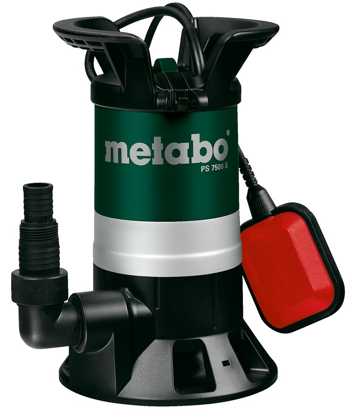 Metabo PS 7500 S насос metabo ps 15000 s 850вт 0251500000