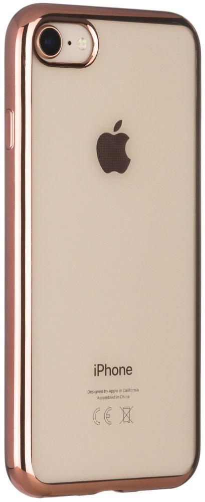 Клип-кейс InterStep Frame для Apple iPhone 7/8 (розовый)