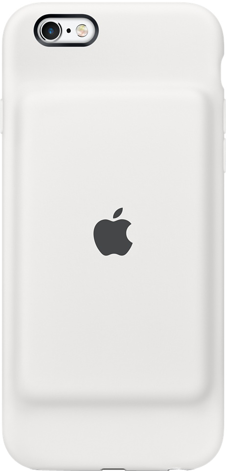 Чехол-аккумулятор Apple Smart Battery Case для Apple iPhone 6/6S (белый) чехол boostcase hybrid battery case 2700mah для iphone 6