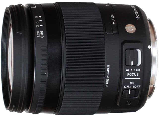 Объектив Sigma AF 18-200mm f/3.5-6.3 DC Macro OS HSM Contemporary Canon EF-S free shipping new and original for niko lens af s nikkor 70 200mm f 2 8g ed vr 70 200 protector ring unit 1c999 172