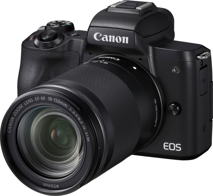 Canon EOS M50 18-150 IS STM (черный) canon eos 100d kit 18 55 is stm белый