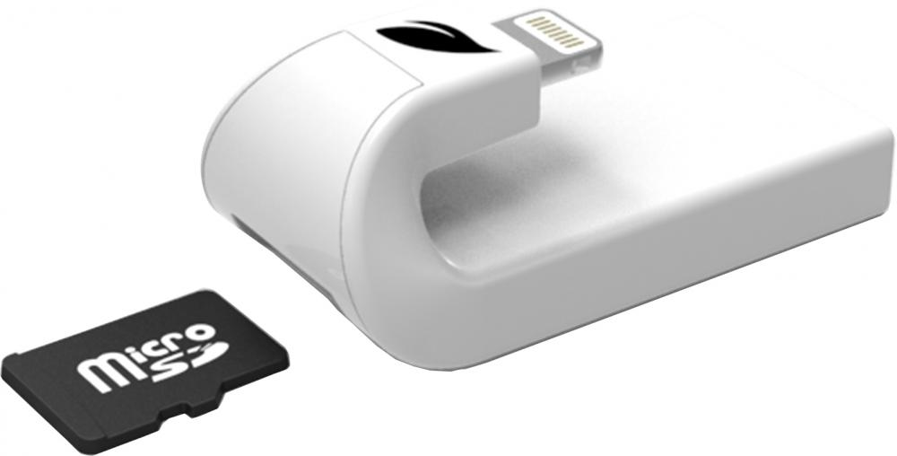 Кардридер Leef iAccess (белый) lightning usb кардридер elari smartreader