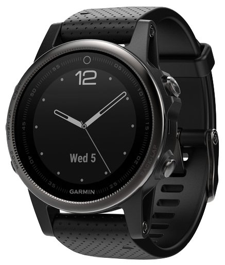 Garmin Fenix 5S Sapphire (черный) free shipping 1 set 1 0mm thick flat round sapphire for watch replacement