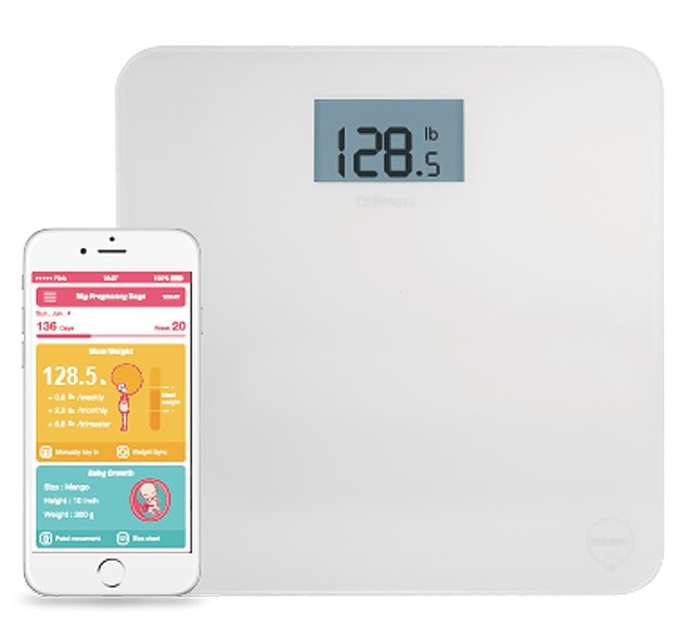 Ozaki O!Fitness Scale My Pregnancy Days (белый) O!Fitness Scale My Pregnancy Days (белый)