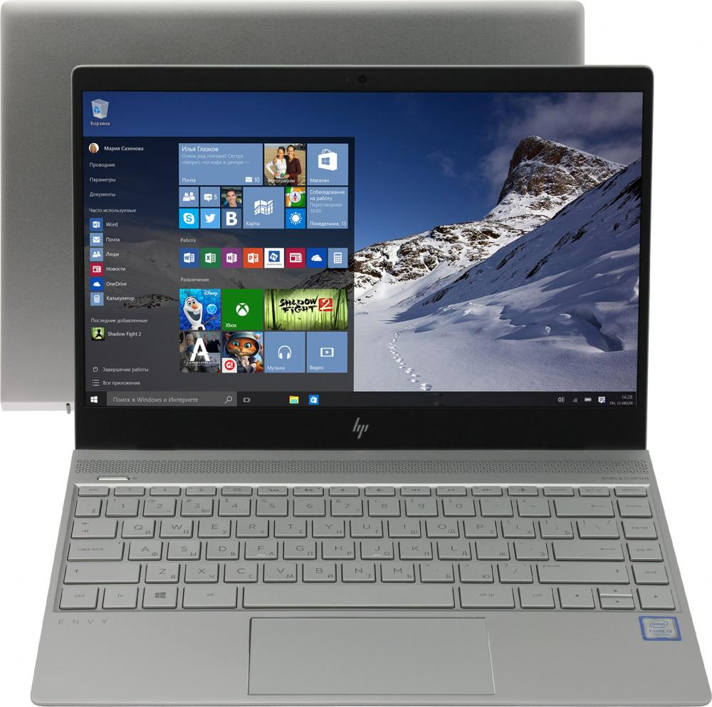 Ноутбук HP Envy 13-ad106ur (Intel Core i7 8550U 1800 Mhz/13.3/1920х1080/8192Mb/360Gb HDD/DVD нет/NVIDIA GeForce MX150/WIFI/Windows 10 Home) new b156htn03 2 b156htn03 3 n156hge lb1 1920 1080 40pin screen for hp envy 15 j011sr