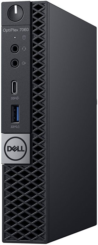 65bbcc435b цены Dell Optiplex 7060-7724 Micro (черный)