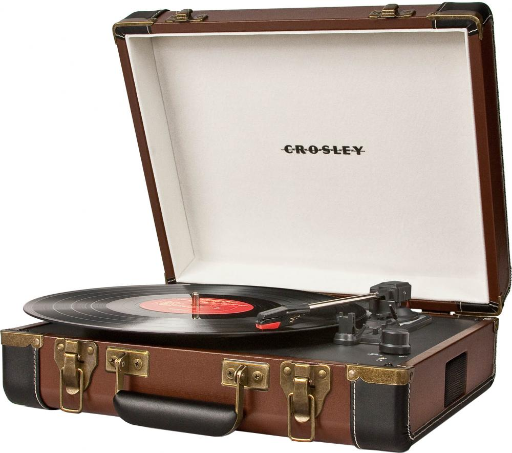 Crosley Executive Deluxe CRL6019D (коричневый)