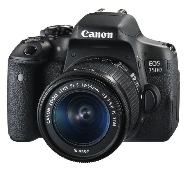 Canon EOS 750D Kit 18-55 IS STM (черный)