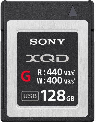 Sony XQD 128Gb G series QDG128E