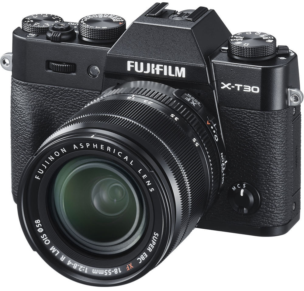Fujifilm X-T30 Kit 18-55mm (черный)