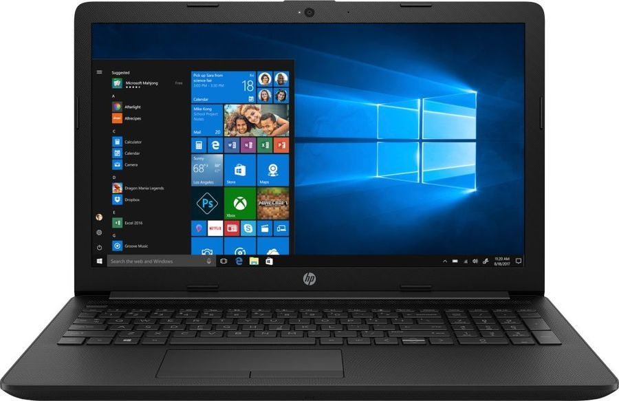 Ноутбук HP 15-da0142ur (Intel Core i3 7020U 2300 Mhz/15.6/1920х1080/4096Mb/16Gb HDD/DVD нет/Intel® HD Graphics 620/WIFI/Windows 10 Home) annke 4ch 720p hd nvr wireless ip network cctv home security camera system 4pcs wifi surveillance camera ir cut indoor outdoor