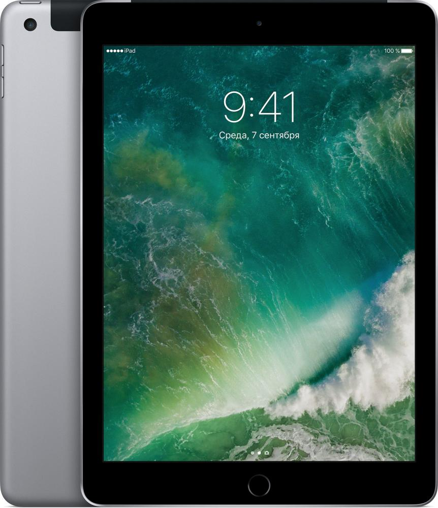 "Планшет Apple iPad 128Gb Wi-Fi + Cellular (9.7""/2048x1536/WIFI/iOS 10)"