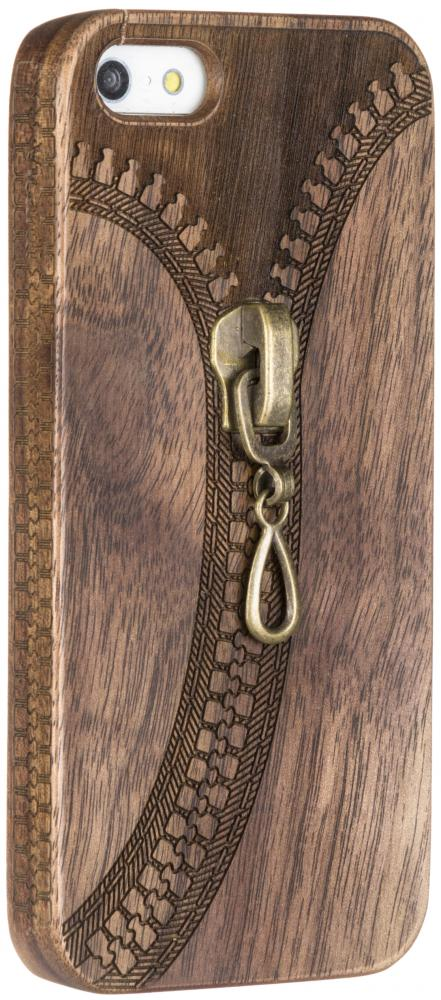 Vicardi Zipper Wood для Apple iPhone SE/5/5S