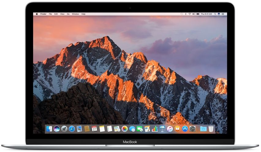 "Ноутбук Apple MacBook 12"" MNYJ2RU/A 512GB (Intel Core i5 1300 Mhz/12""/2304x1440/8192Mb/512Gb HDD/Intel® HD Graphics 615/WIFI/macOS Sierra)"