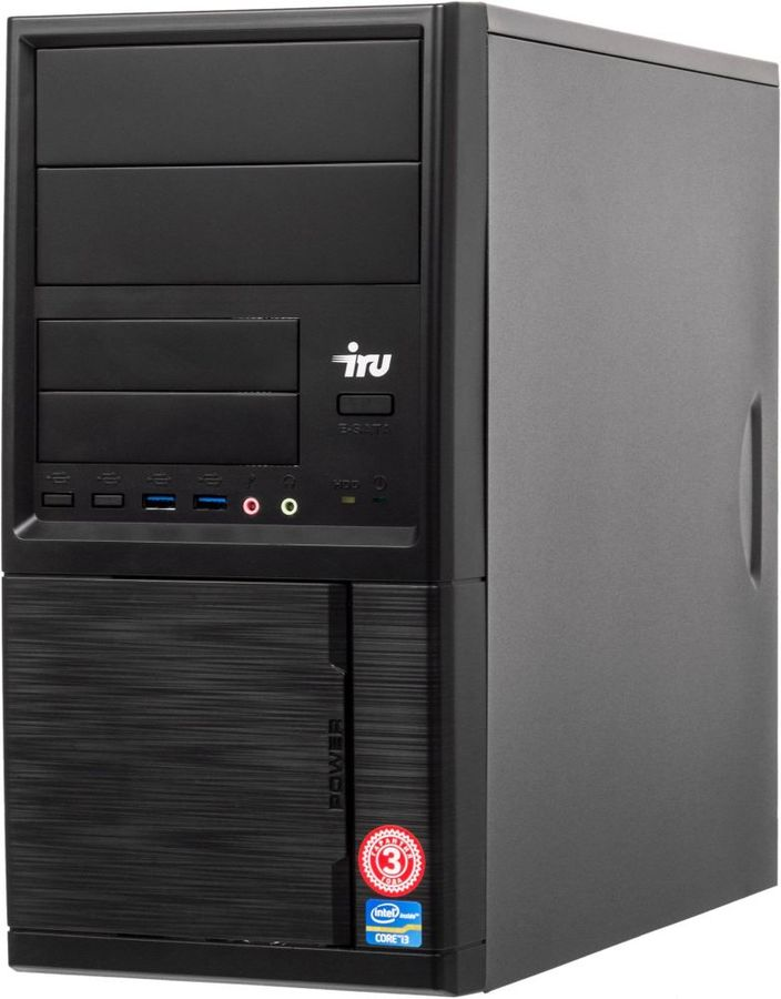 iRU Home 228 MT 1110886 (черный)