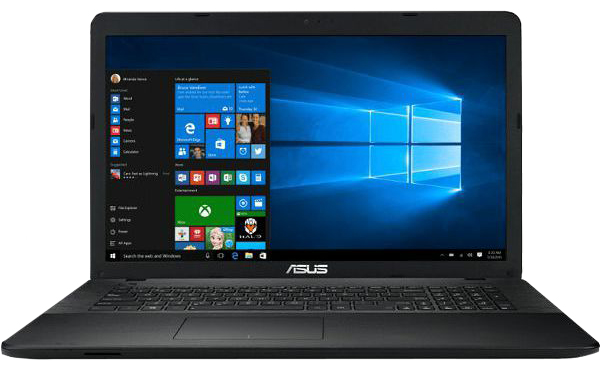 "Ноутбук ASUS X751NV-TY001T (Intel Pentium N4200 2500 Mhz/17.3""/1600x900/4096Mb/1000Gb HDD/DVD-RW/NVIDIA GeForce 920M/Windows 10)"
