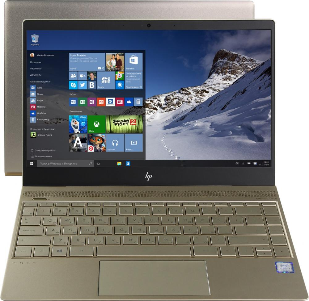 Ноутбук HP Envy 13-ad103ur (Intel Core i5 8250U 1600 Mhz/13.3/1920х1080/8192Mb/360Gb HDD/DVD нет/NVIDIA GeForce MX150/WIFI/Windows 10 Home) new b156htn03 2 b156htn03 3 n156hge lb1 1920 1080 40pin screen for hp envy 15 j011sr